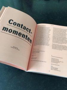 Contactmomenten poëchiatrie